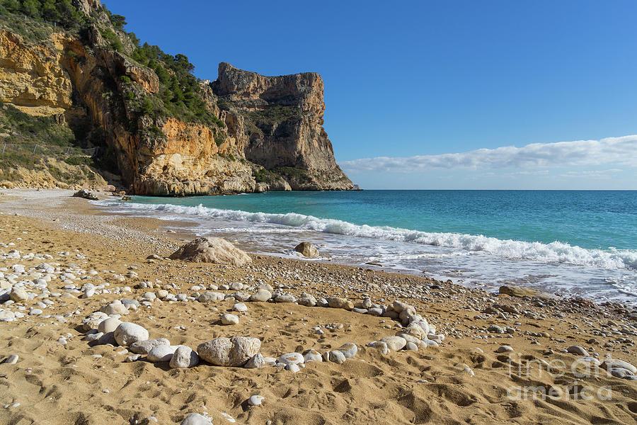 Beach, Sun And Mediterranean Sea - Cala Moraig 1 Photograph