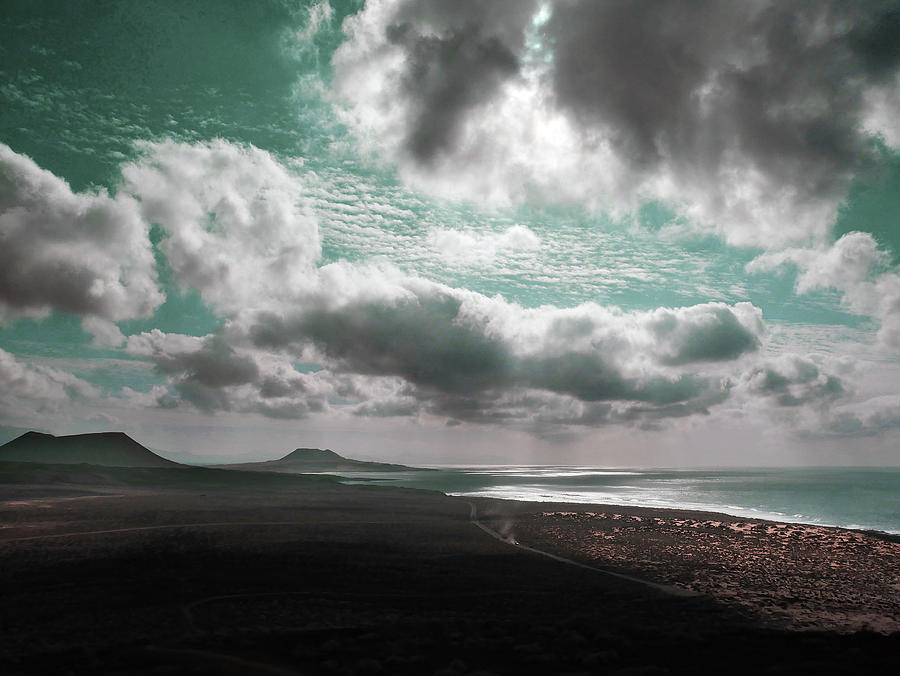 Beach Sunset - Surreal Art By Ahmet Asar Digital Art