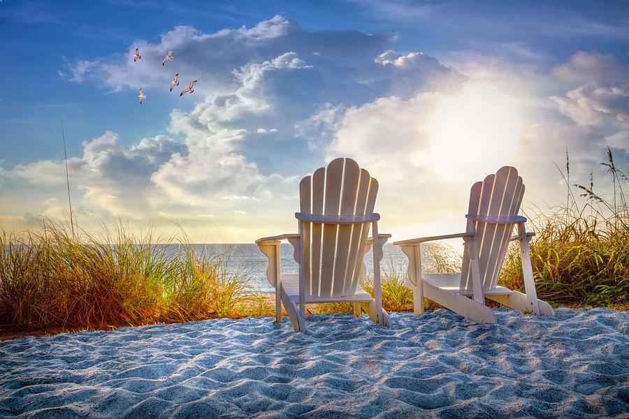 Beach Time by Debra and Dave Vanderlaan