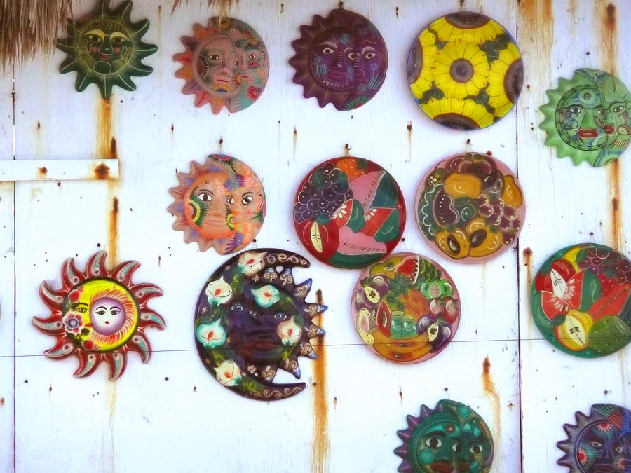 Beach Vendors Wares Digital Art