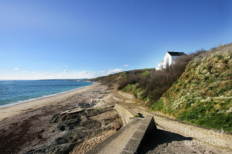 Beach Walk To Porthleven Photograph