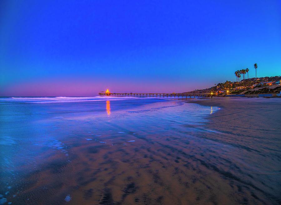 Sunrise Photograph - Beachfront Sunrise by Jonathan Hansen
