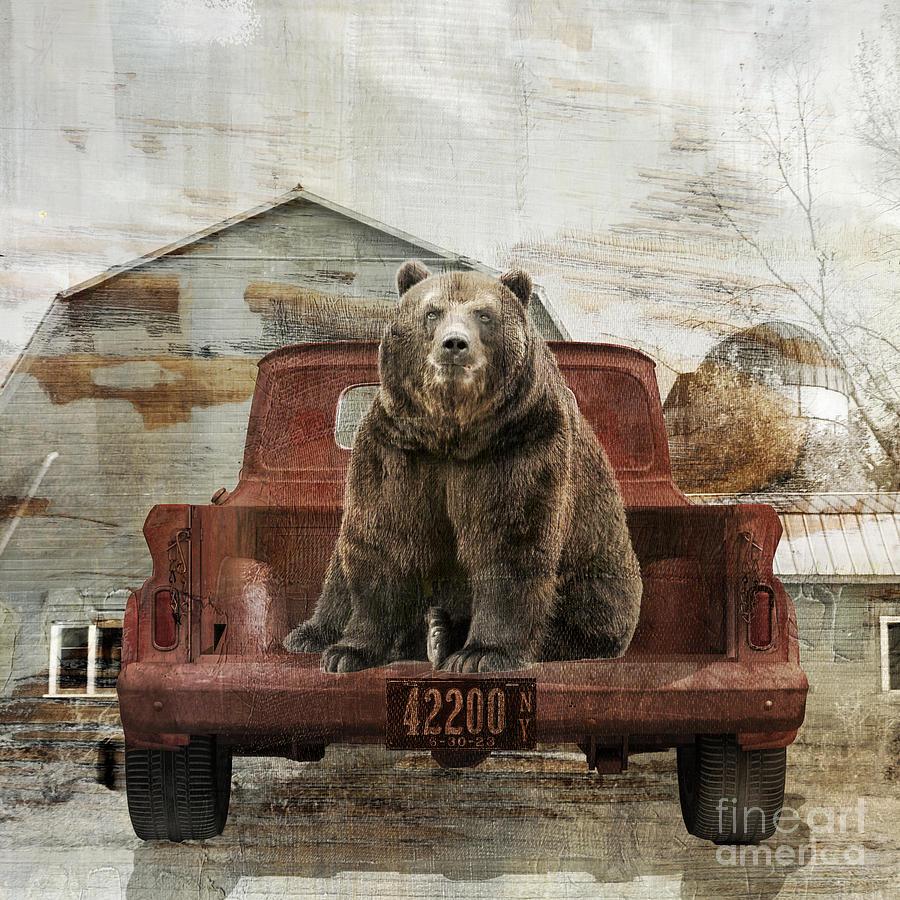 Bear Trip Painting