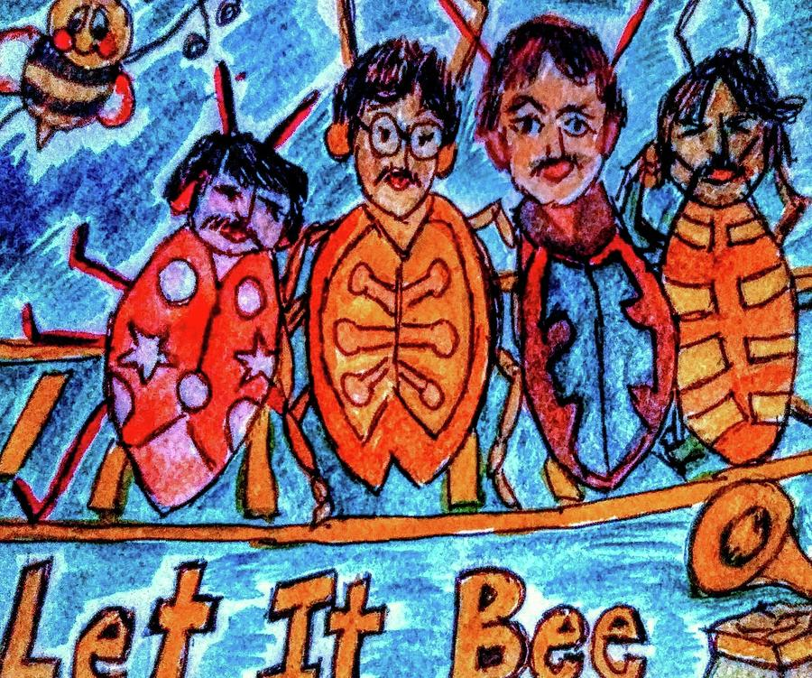 Beatles Let It Be Drawing
