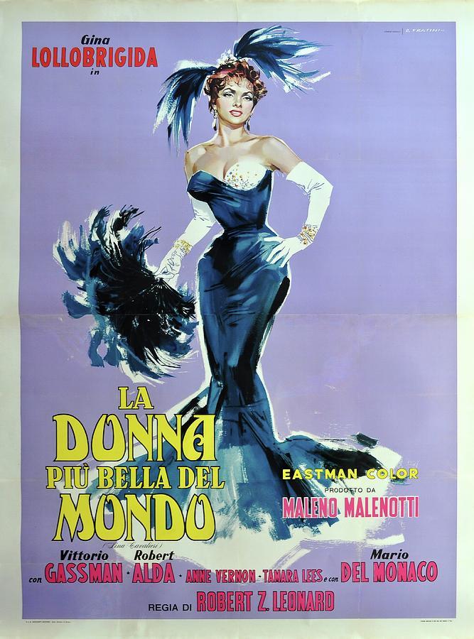 beautiful But Dangerous, With Gina Lollobrigida, 1955 Mixed Media