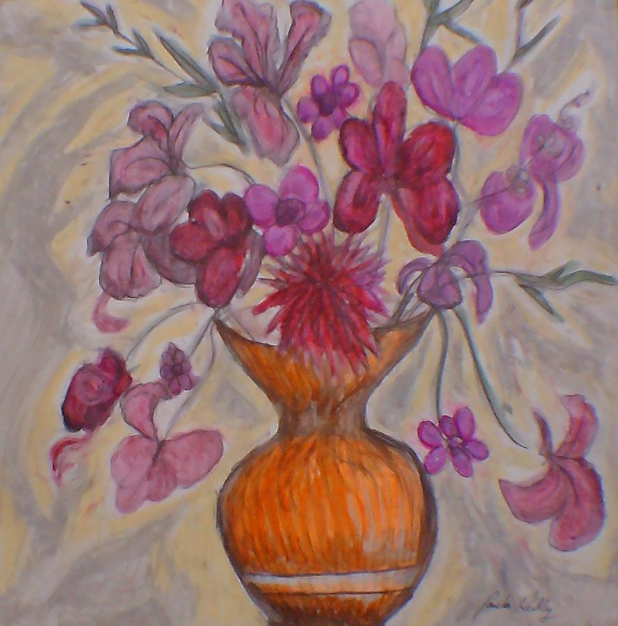 Beautiful Flowers 2 Drawing By Paula Reilly,Japanese Cherry Blossom Festival Dc