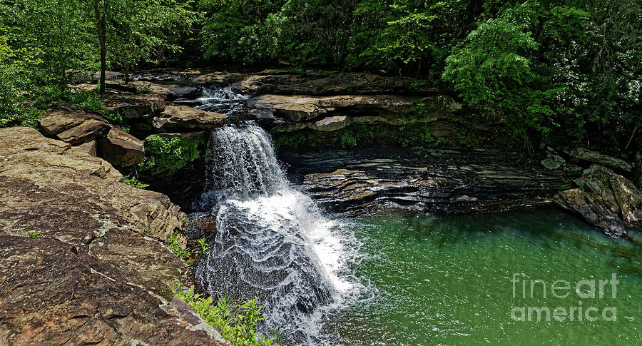 Beautiful Lamance Falls Photograph
