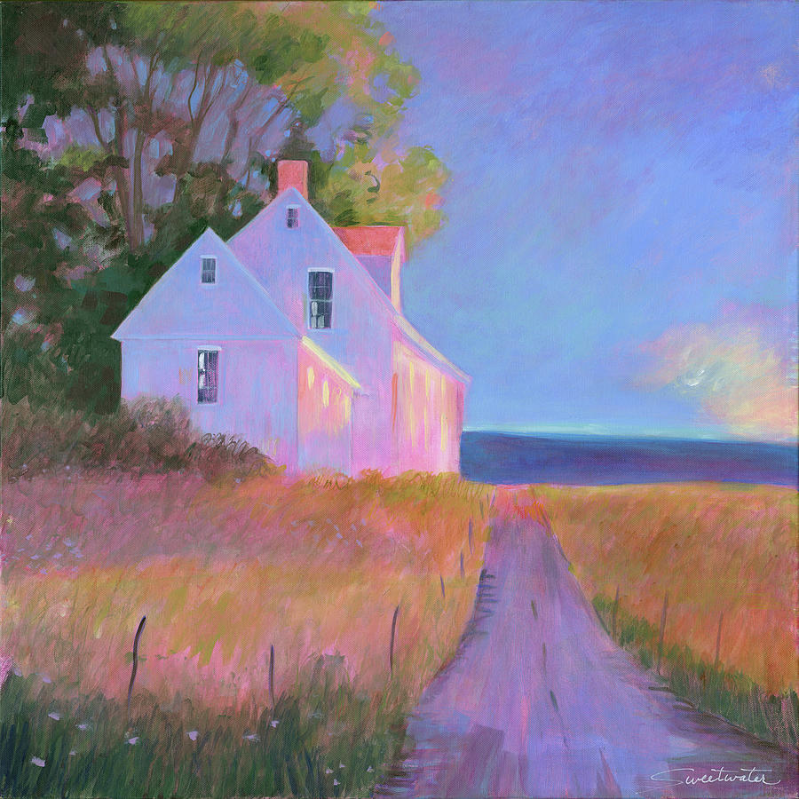 Landscape Painting - Beautiful Mornin by Janice Sweetwater