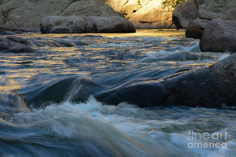Beautiful Pristine South Platte River In Eleven Mile Canyon Photograph