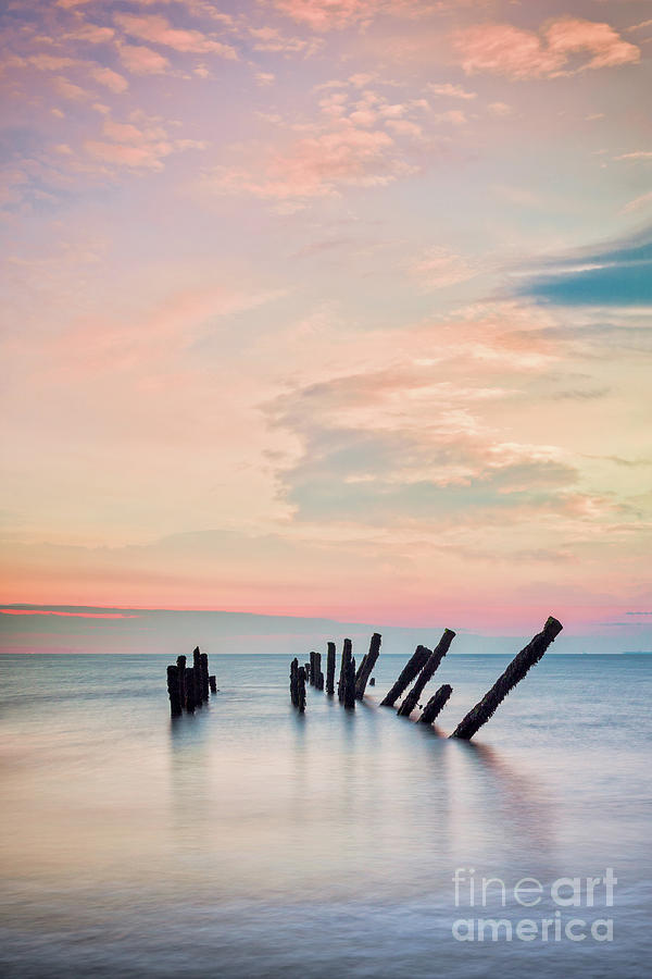 Beautiful Seascape At Spurn Point, Yorkshire Photograph