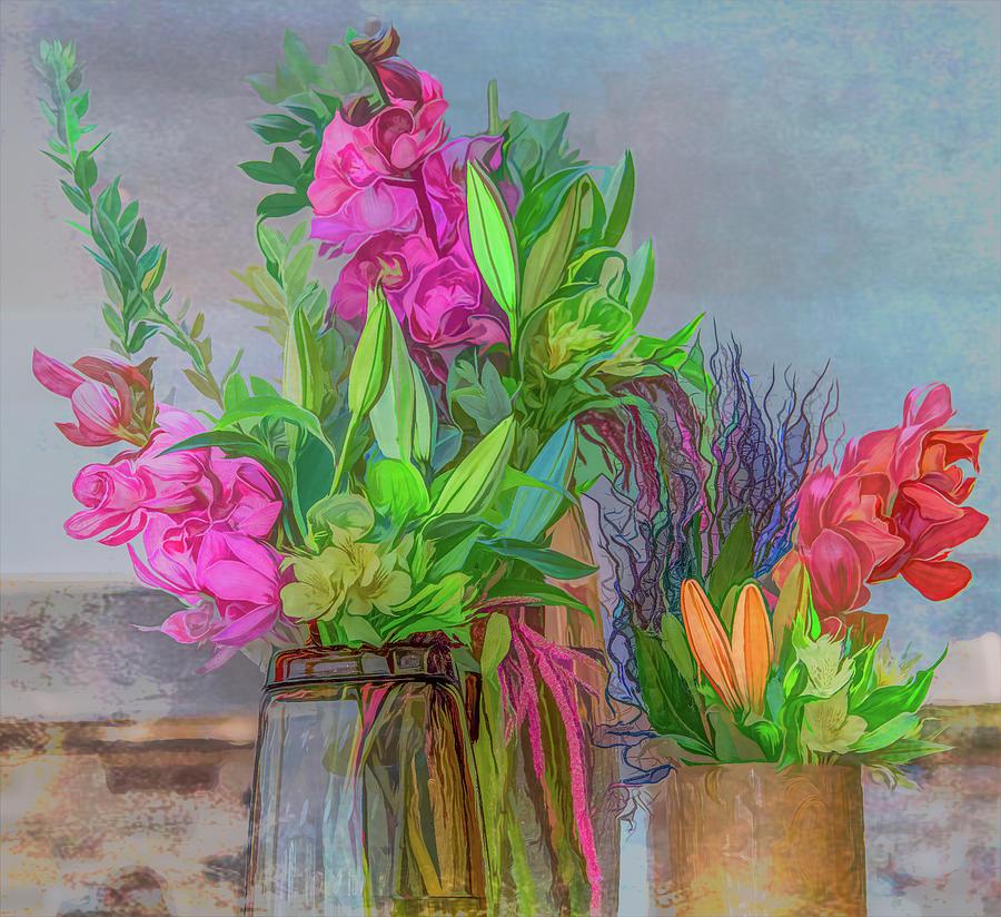 Beauty At Breakfast by Marcy Wielfaert