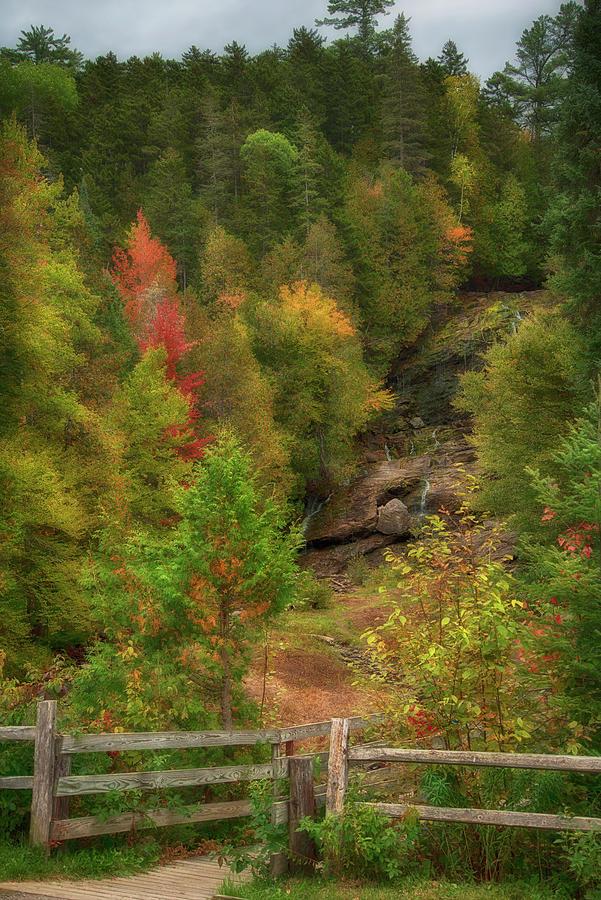 Beaver Brook Falls - Colebrook, Nh Photograph