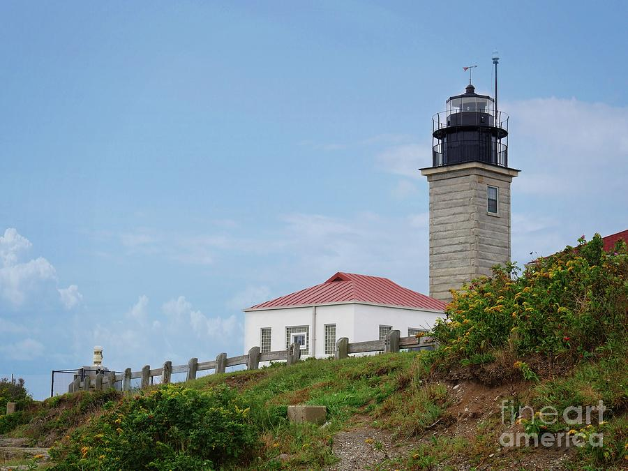 Beavertail Lighthouse Photograph