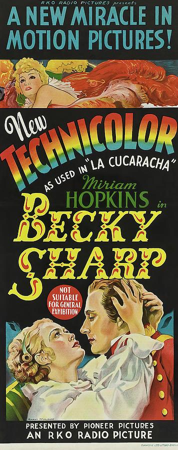 becky Sharp, With Miriam Hopkins, 1935 Mixed Media