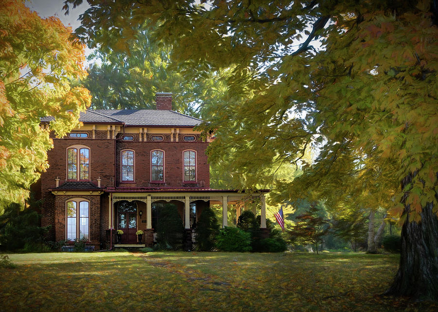 Bed and Breakfast in the Fall  by Mary Lynn Giacomini