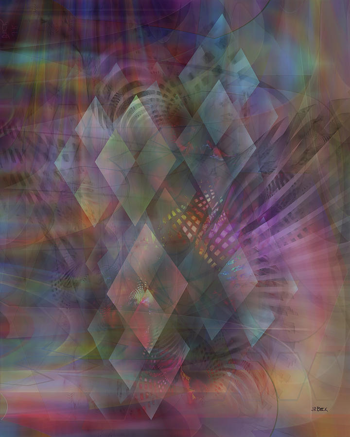 Bedazzled Digital Art - Bedazzled by Studio B Prints