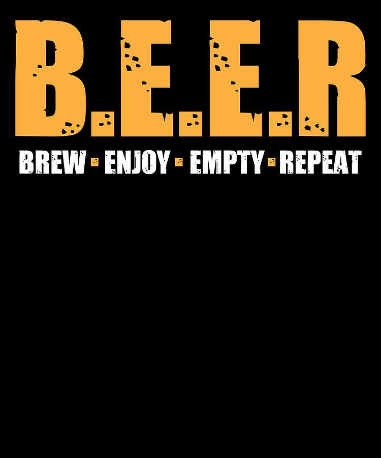 Brew enjoy empty repeat Wine Cup
