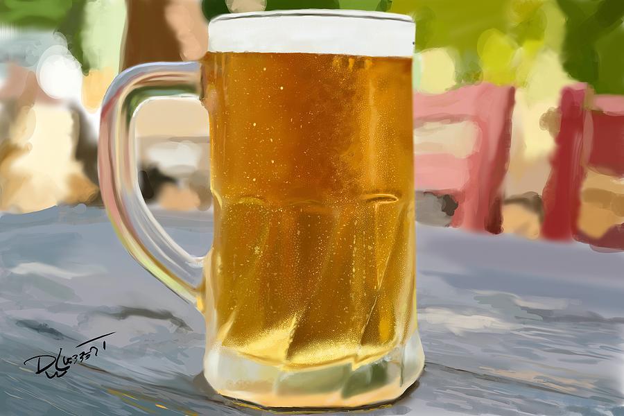 Beer Mug Digital Art