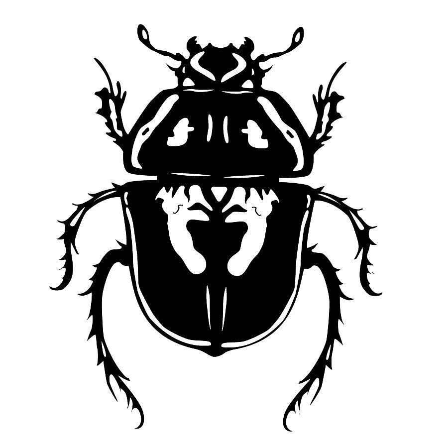 Bug Digital Art - Beetle by Jesse Chaidez