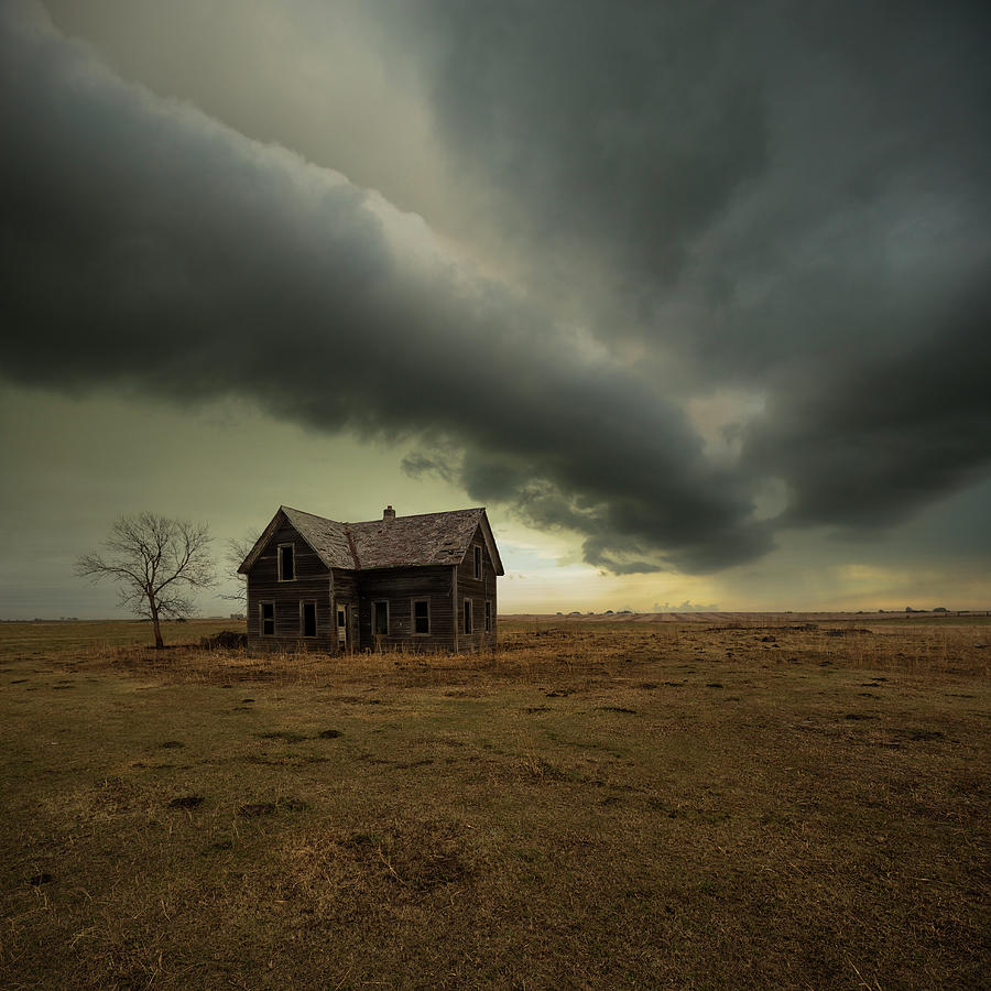 Roll Cloud Photograph - Before Its Too Late by Aaron J Groen