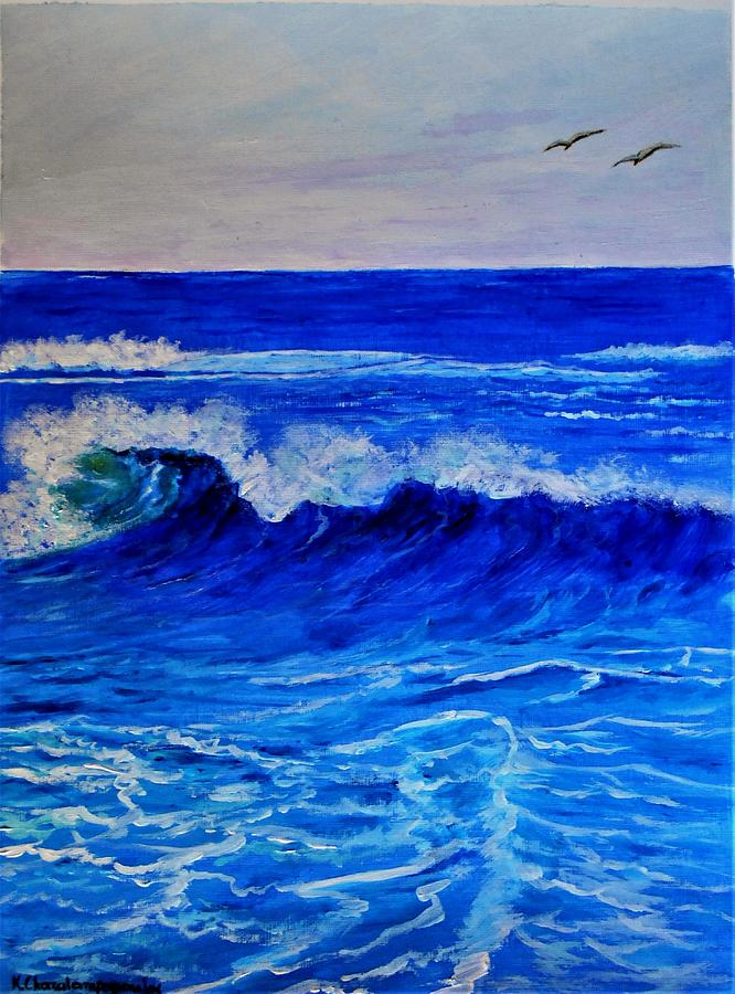 Before The Wave Shots Painting