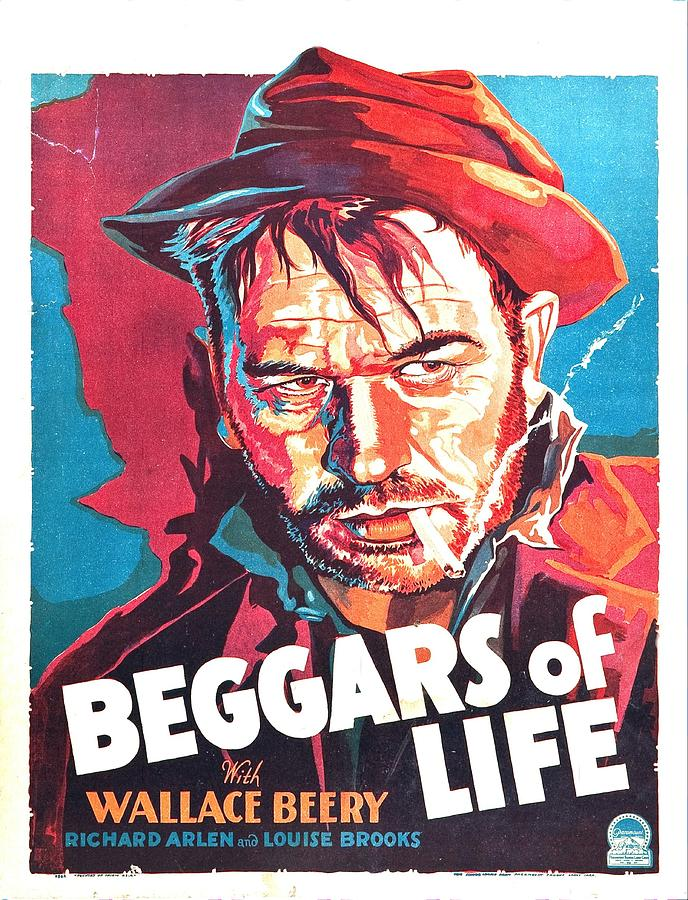 beggars Of Life - 1928 Mixed Media