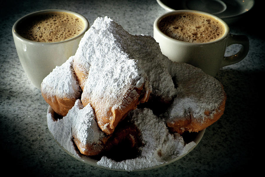 Beignets At Cafe Du Monde by Bill Swartwout Photography