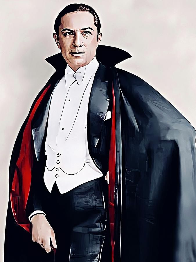 Countess Dracula Painting - Bela Lugosi Count Dracula by Vincent