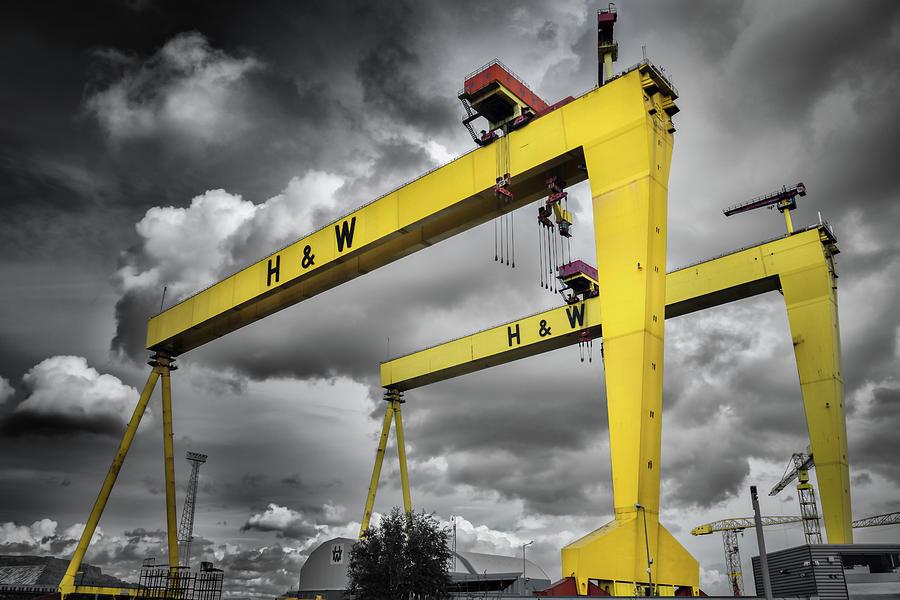 Belfast Shipyard 7 Photograph