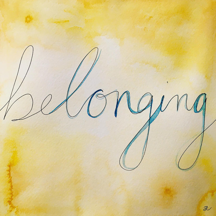 Belonging by Anna Elkins