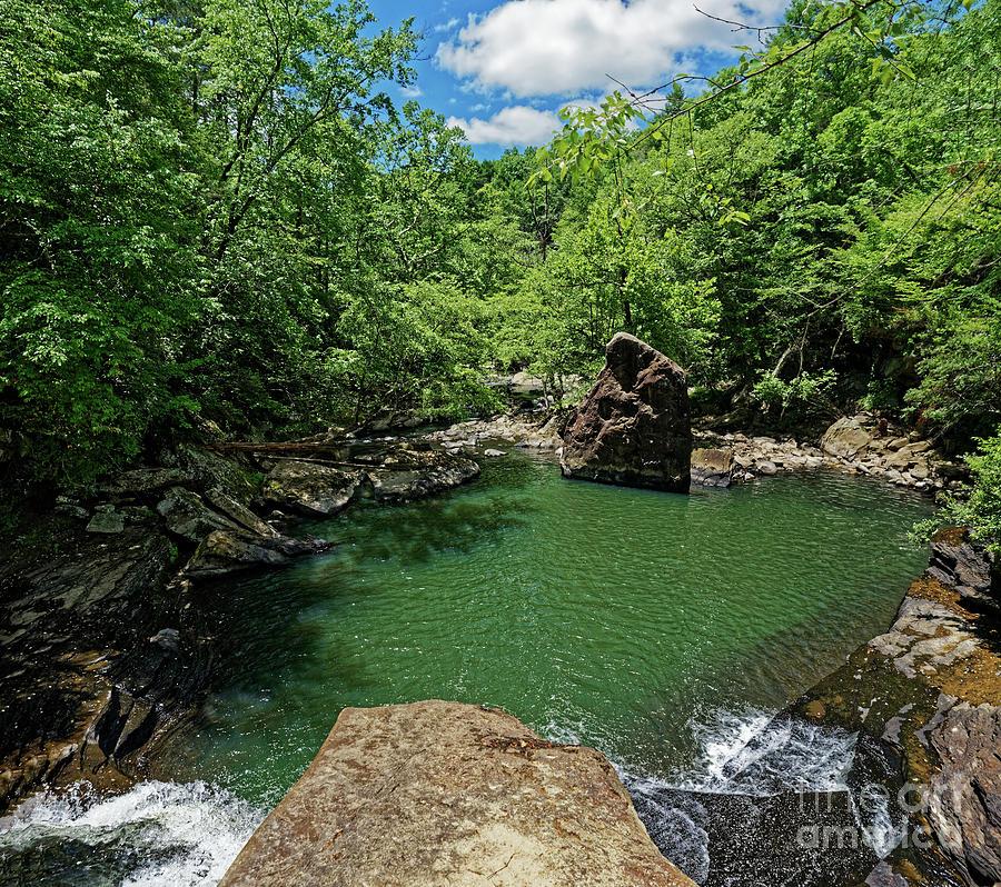 Below Lamance Falls Photograph