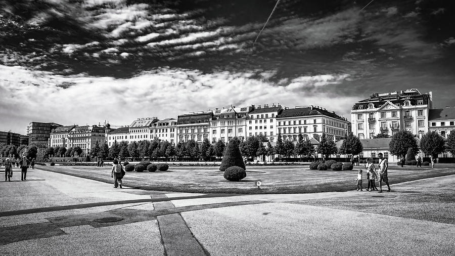 Belvedere Gardens II bnw by Borja Robles