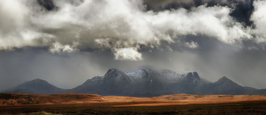 Sutherland Photograph - Ben Loyal Panorama by Grant Glendinning