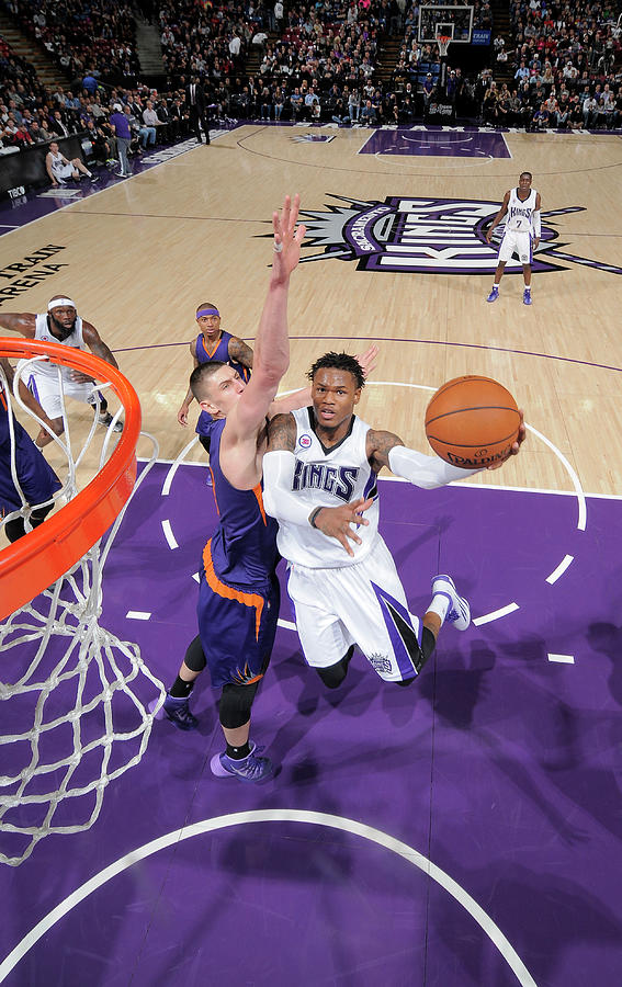 Ben Mclemore and Alex Len Photograph by Rocky Widner