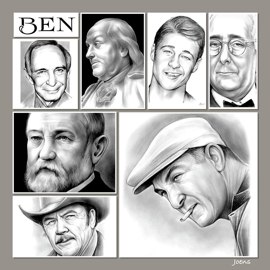 Ben - Pencil Drawing