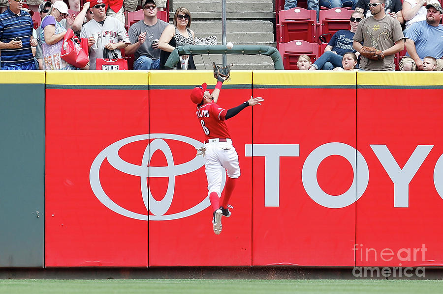Ben Revere and Billy Hamilton Photograph by Kirk Irwin