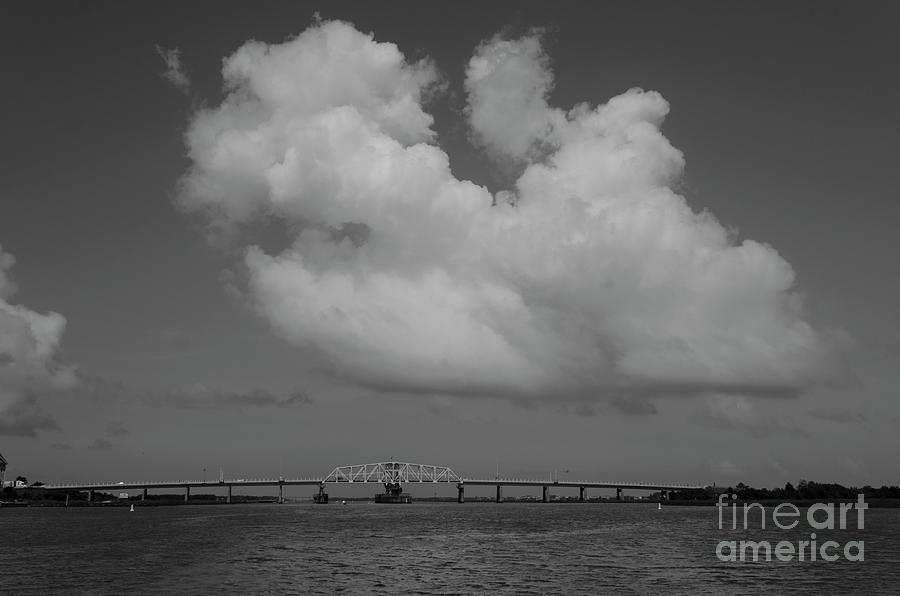 Ben Sawyer Swing Bridge - Sc 703 Photograph