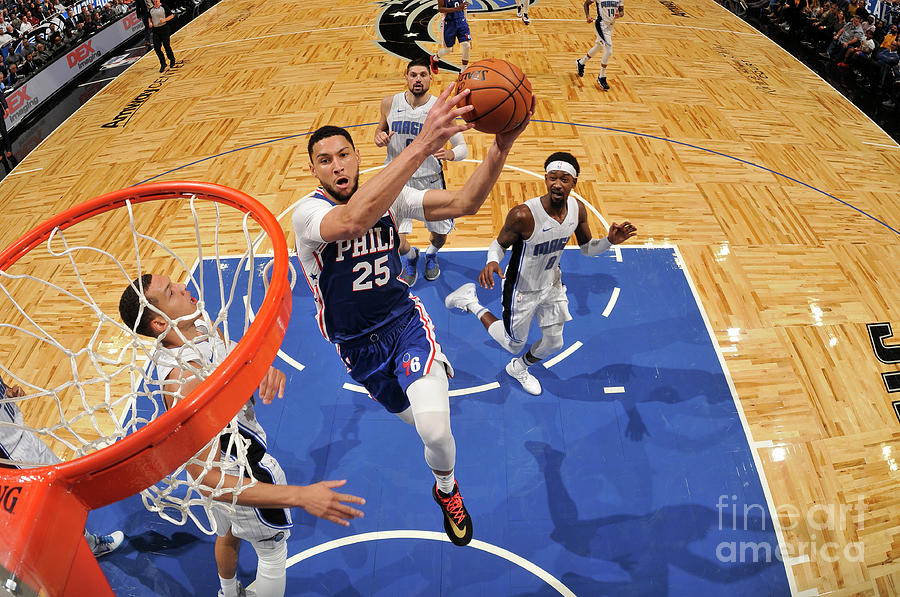 Ben Simmons Photograph by Fernando Medina