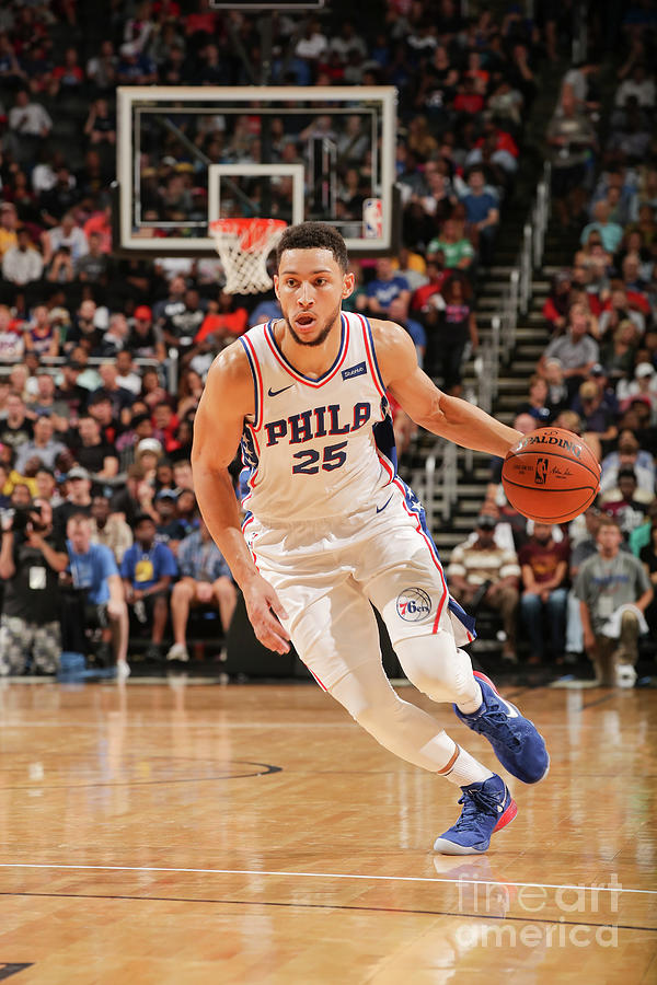 Ben Simmons Photograph by Issac Baldizon
