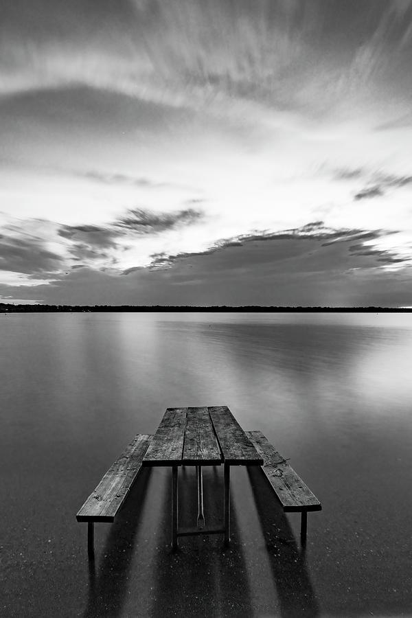 Bench Of Solitude Photograph
