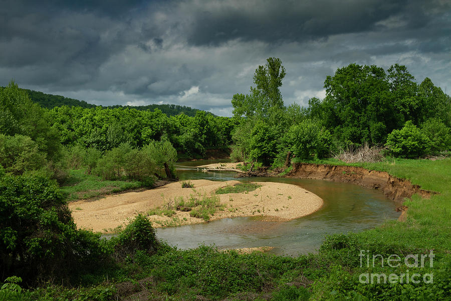 Bend in the river Missouri Ozarks by Garry McMichael
