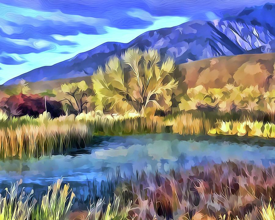 Benton Pond by Frank Lee Hawkins