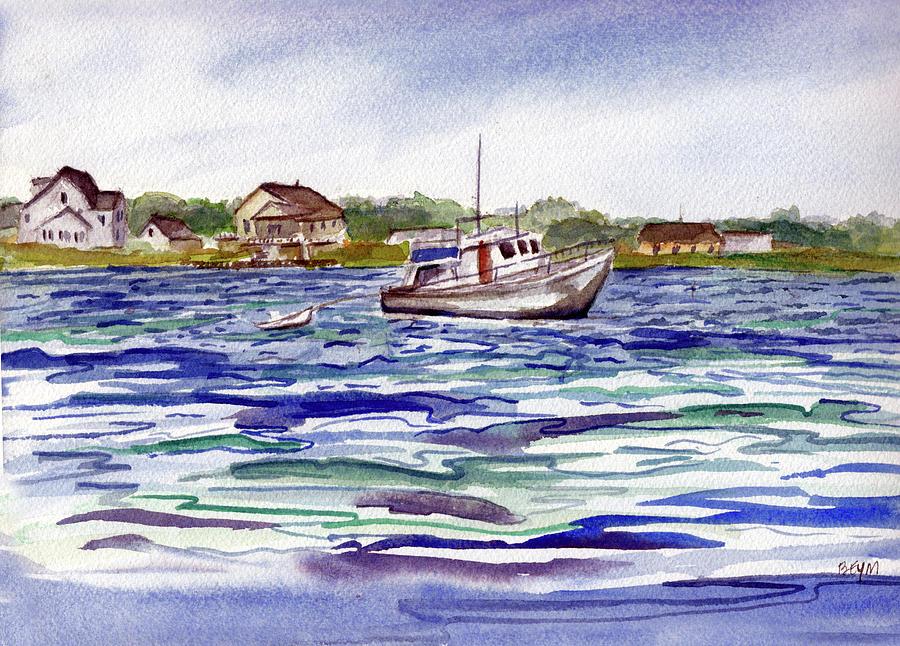Berkeley Island Cove by Clara Sue Beym