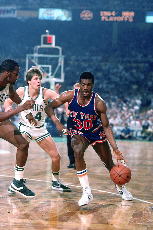 Bernard King and Danny Ainge Photograph by Dick Raphael