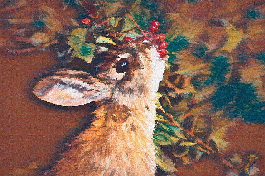 Berry Bunny Dp1 Digital Art