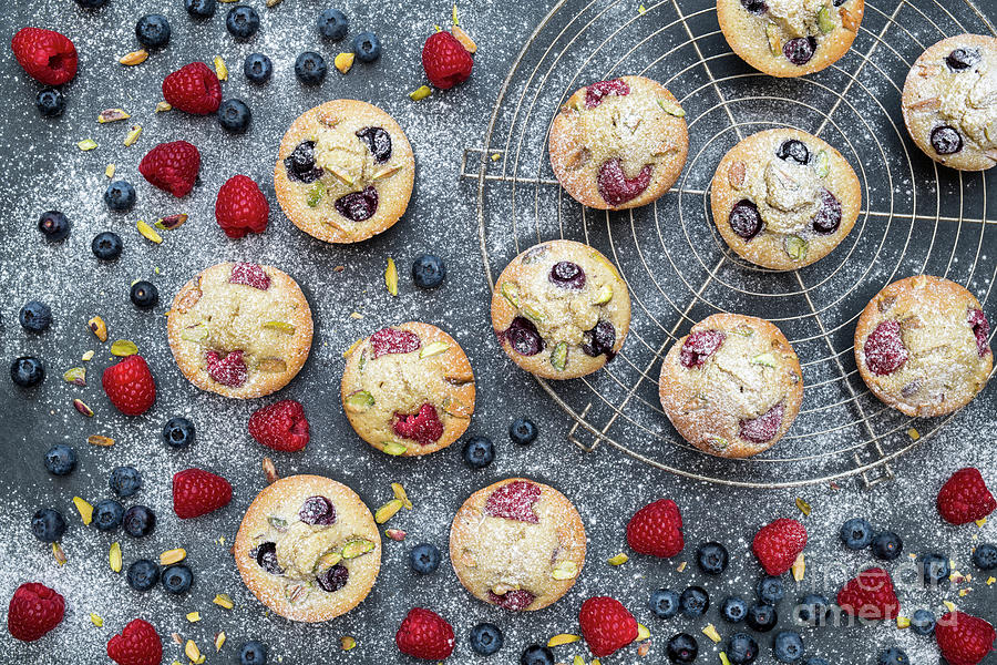 Berry Friands by Tim Gainey