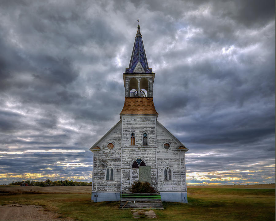 Bethel Lutheran Church on Highway 5  by Harriet Feagin