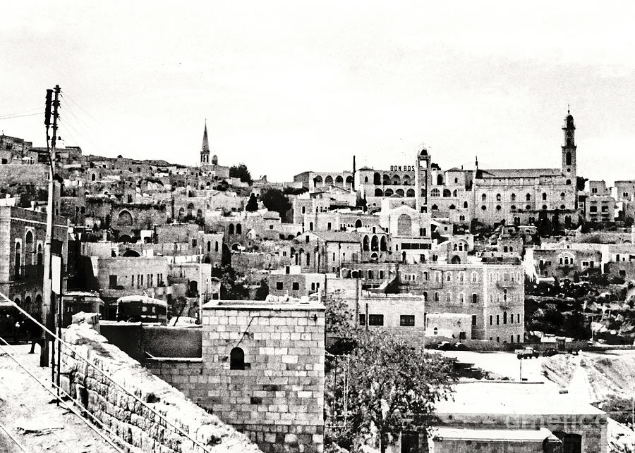 Bethlehem In 1963 Photograph