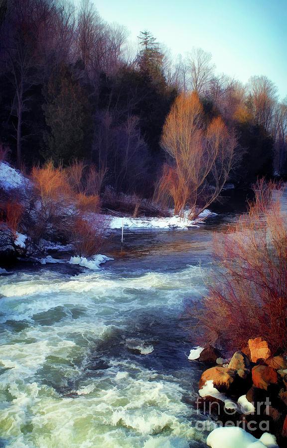 betsie river dam by AnnMarie Parson-McNamara