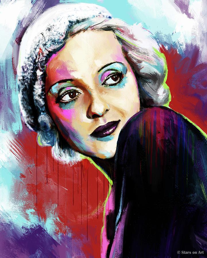 Bette Davis Painting Painting